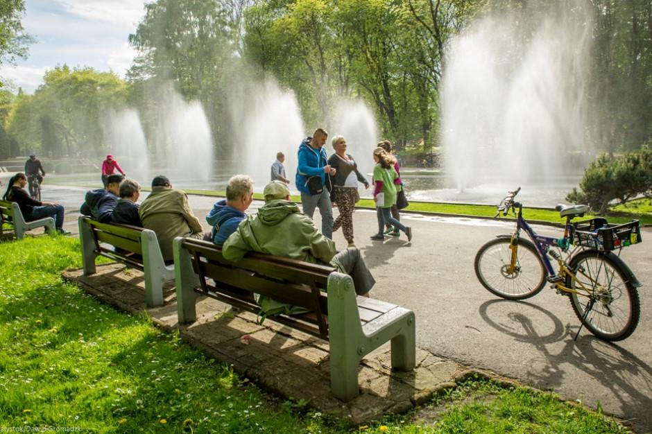 Białystok rozpoczyna sezon na fontanny