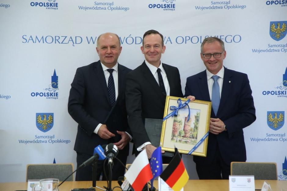 Województwo opolskie przedłuża współpracę z Nadrenią-Palatynatem