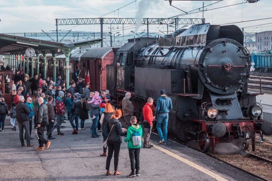 Parowóz rusza w Małopolskę. Zabytkowy pojazd będzie promował region