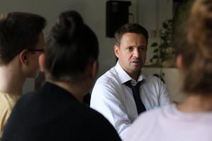 Rafał Trzaskowski: Będzie plan miejscowy dla Srebrnej i jasne zasady czy można budować wieżowce czy nie