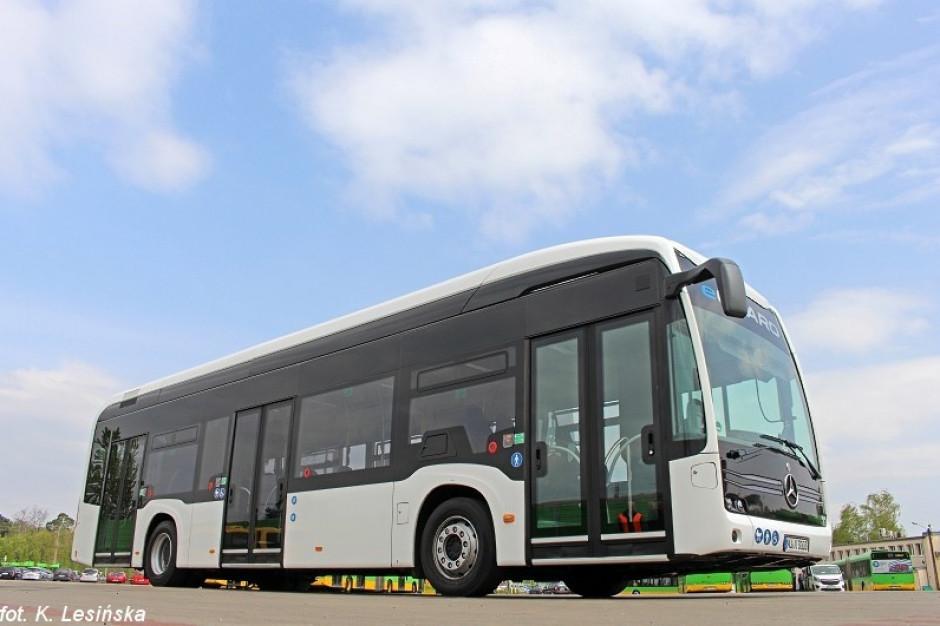 Poznań testuje elektryczne autobusy