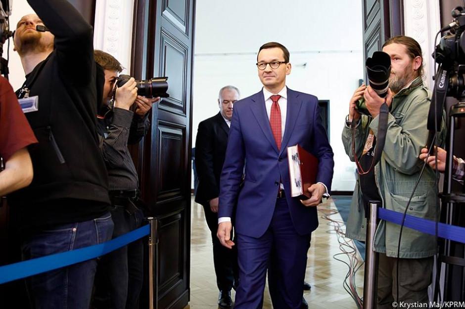 Mateusz Morawiecki mówi o satysfakcji z decyzji ZNP