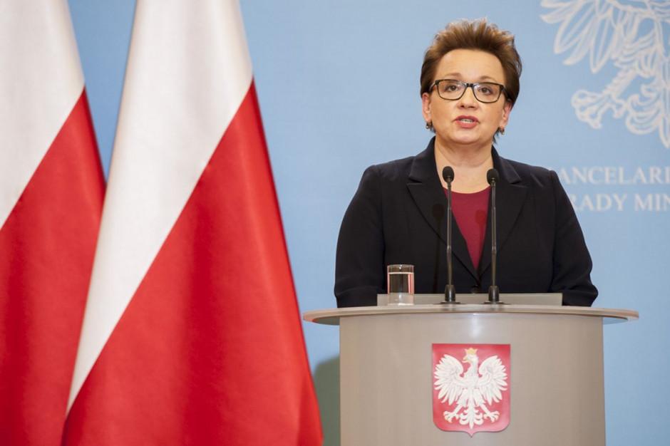 Anna Zalewska: w szkołach będą podwyżki i nowa jakość pracy