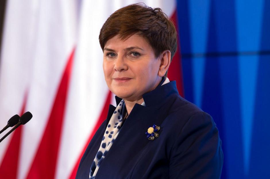 Beata Szydło: rząd nie odtrąbił sukcesu po decyzji ZNP