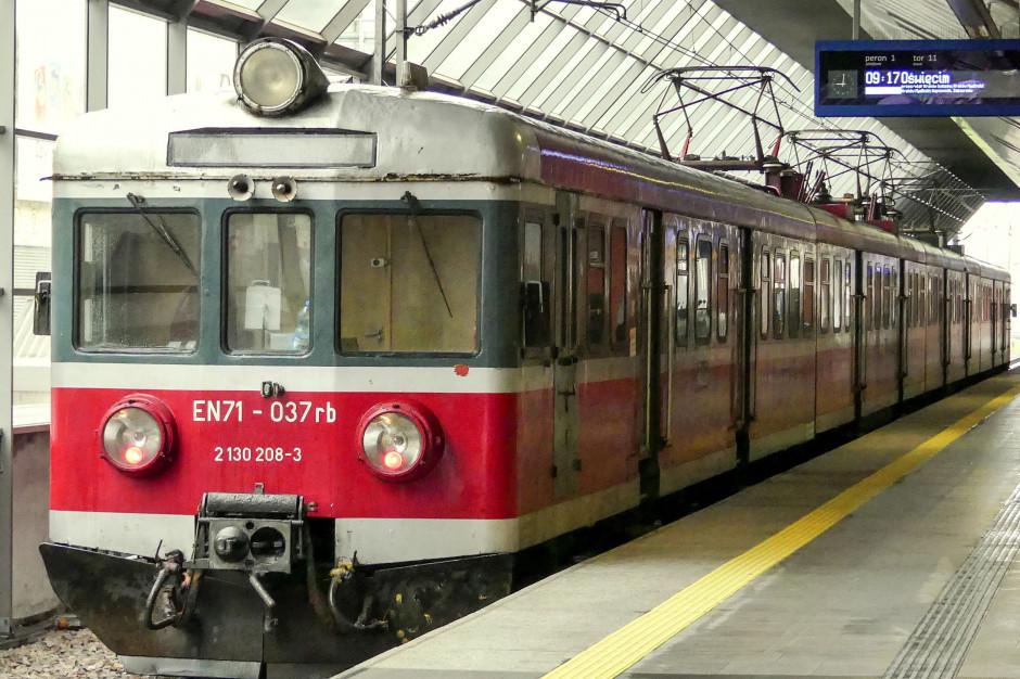 Połączenie kolejowe Kraków - Zator wraca na weekendy i święta