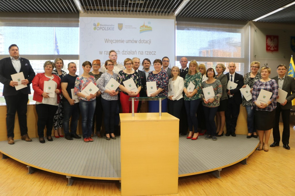 Opolskie: Ćwierć miliona na wiejskie inicjatywy