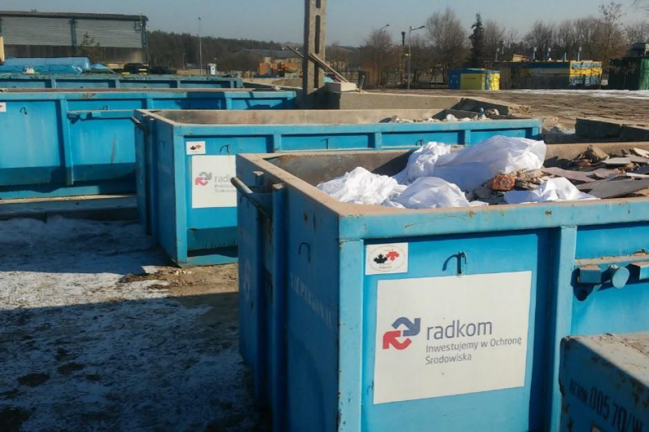 Radom wzbogaci się o drugi punkt zbiórki odpadów