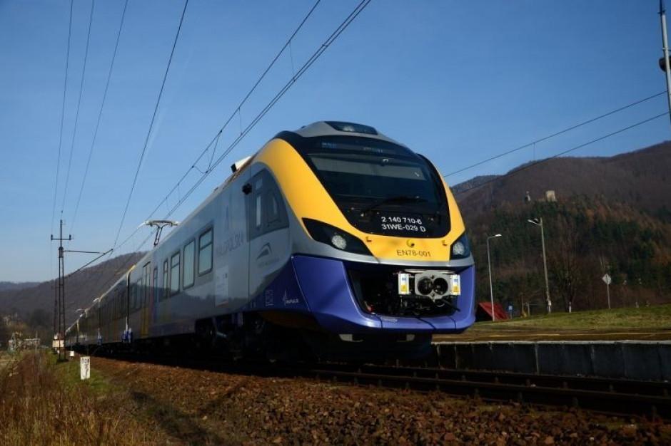 Koleje Małopolskie dostaną cztery nowe pociągi