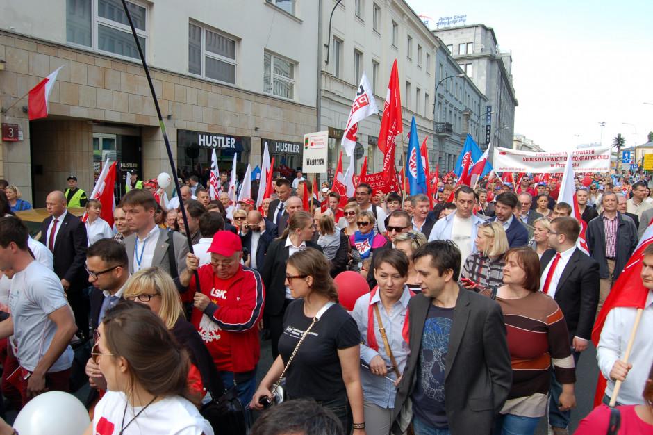 1 maja swoje uroczystości organizuje SLD, Lewica Razem, PPS i Wiosna Roberta Biedronia