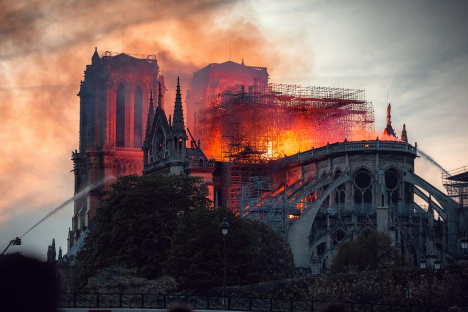 Jak chronić najważniejsze zabytki? Po pożarze Notre Dame dyskusja w Paryżu