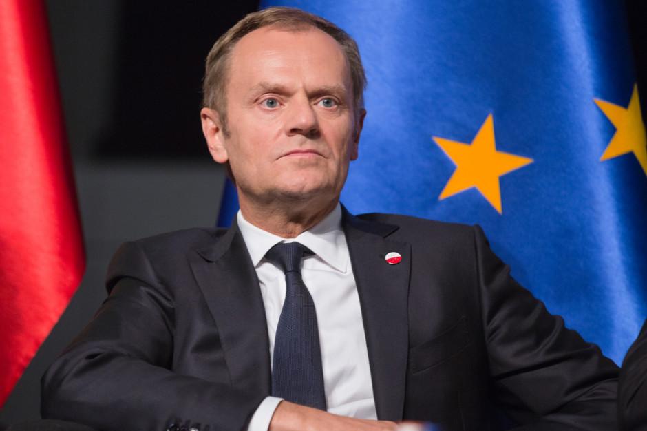 Donald Tusk w Warszawie. Najpierw wykład, potem rozmowy z obywatelami