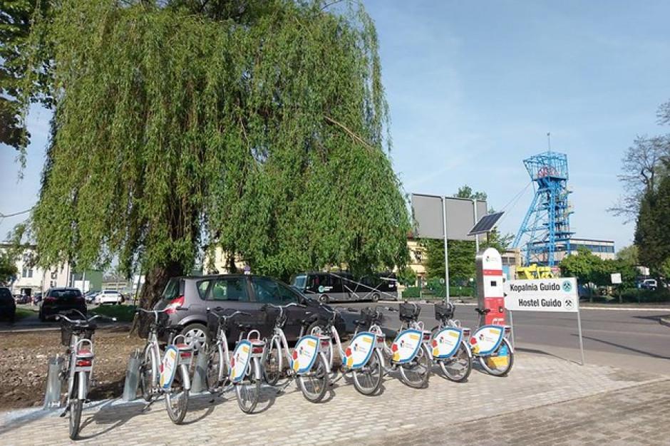 Rower miejski w Zabrzu wraca w nowej odsłonie