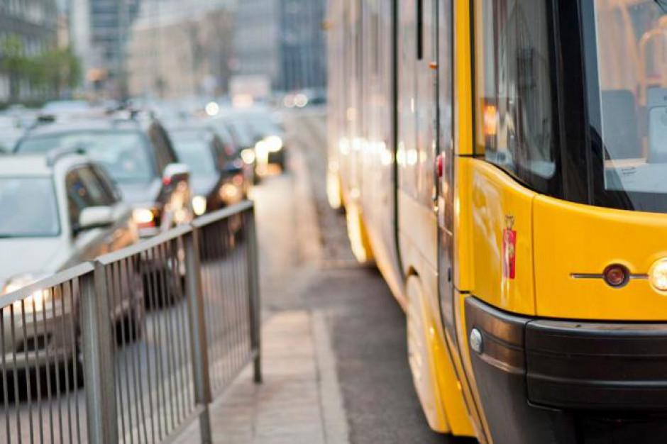 Śmierć pasażera w tramwaju w Warszawie