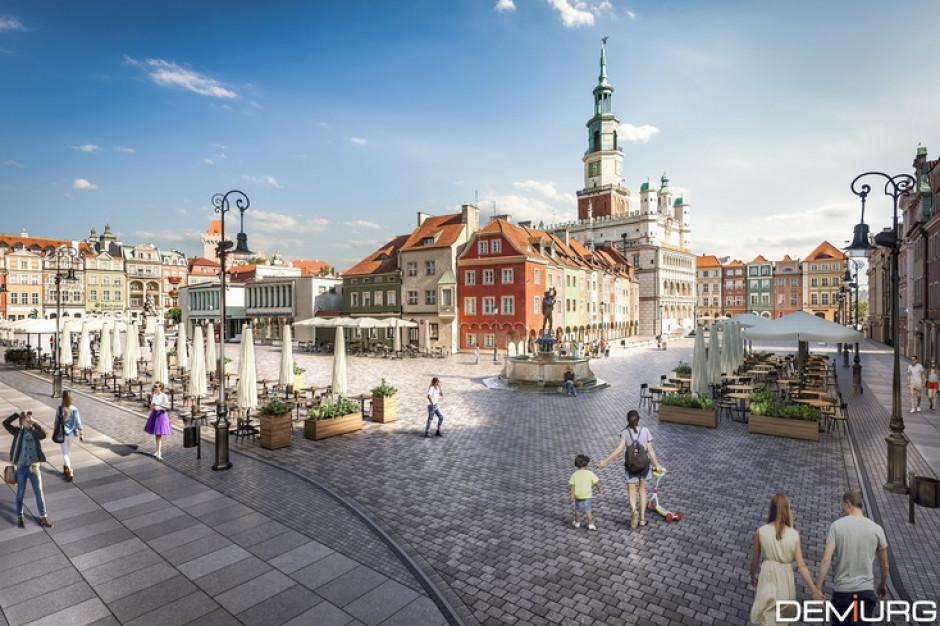 Poznań zmieni Stary Rynek za 50 mln zł