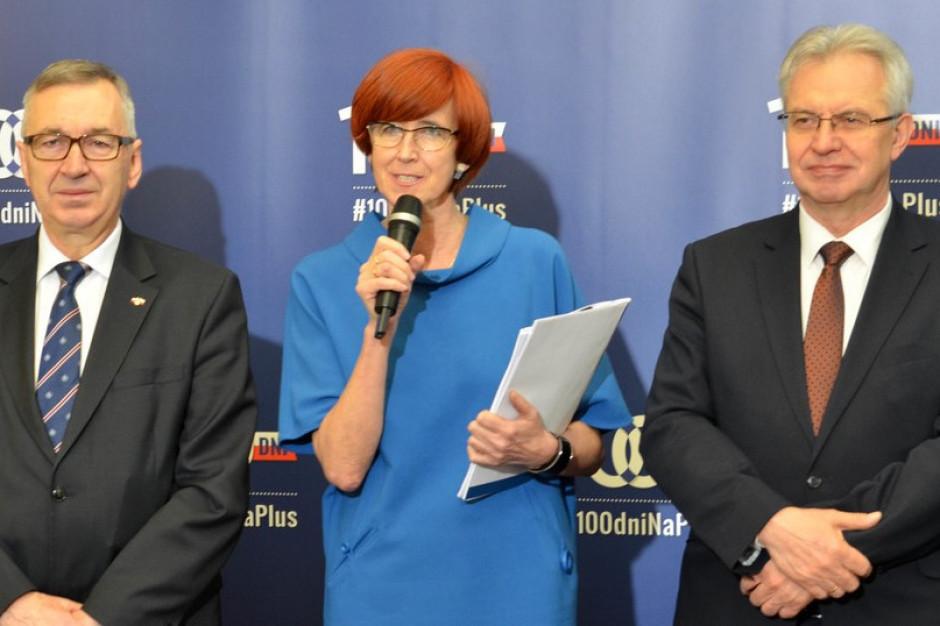 Elżbieta Rafalska: 500+ przyczynia się do redukcji ubóstwa. Kto twierdzi inaczej, zaklina rzeczywistość