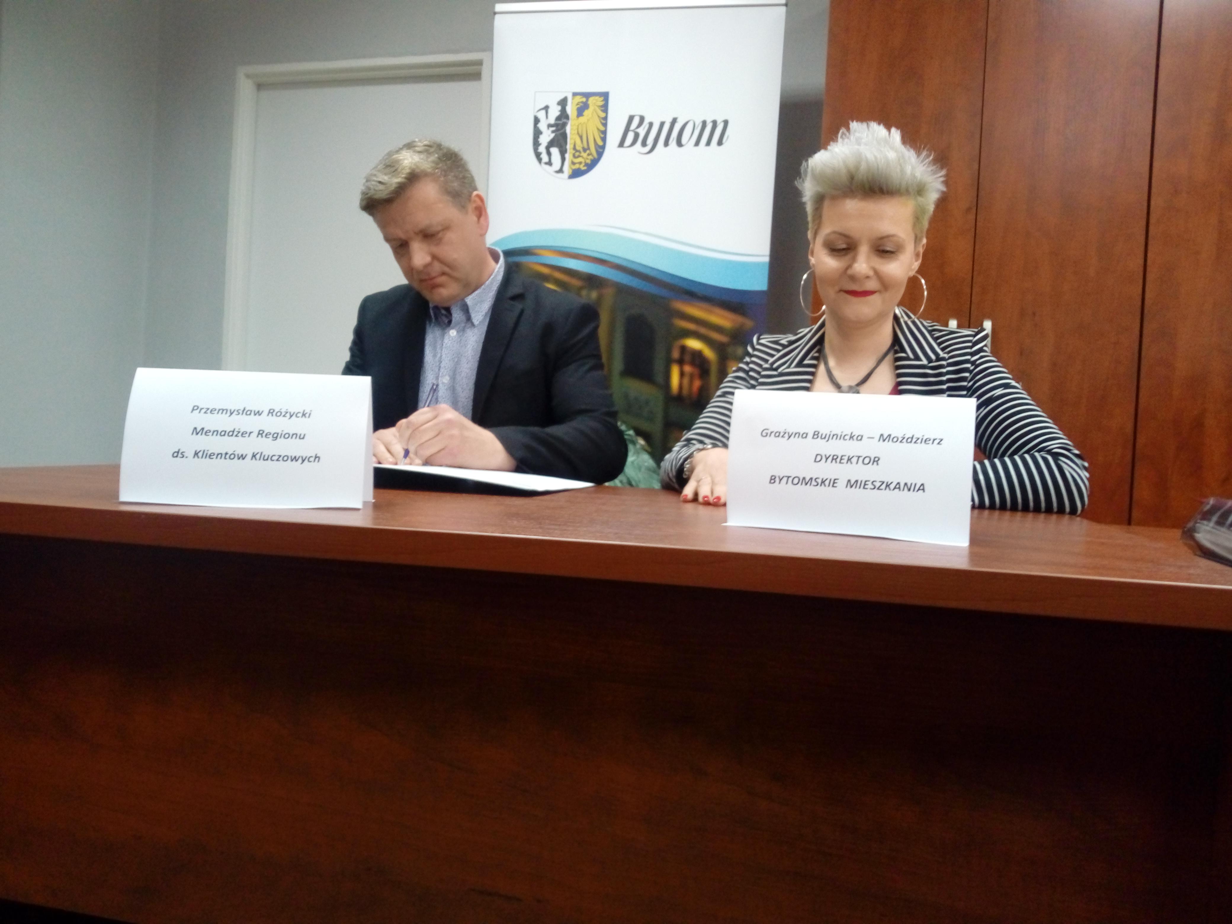 Podpisanie umowy o współpracę z Krajowym Rejestrem Długów Biurem Informacji Gospodarczej S.A (fot. mat. pras.)
