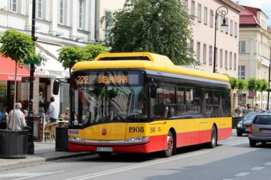Cysterna z gazem do autobusów stanęła przy Ostrobramskiej
