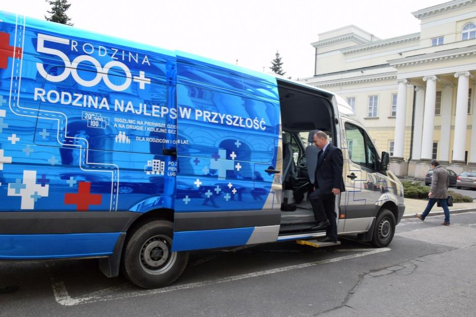 Urząd Mazowiecki: 11 mld złotych na 500 plus od 2016 r.
