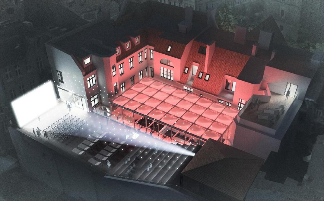 Praca została nagrodzona za kompleksowe i spójne rozwiązania architektoniczno-funkcjonalne odpowiadające najpełniej na oczekiwania Estrady (fot.poznan.pl)