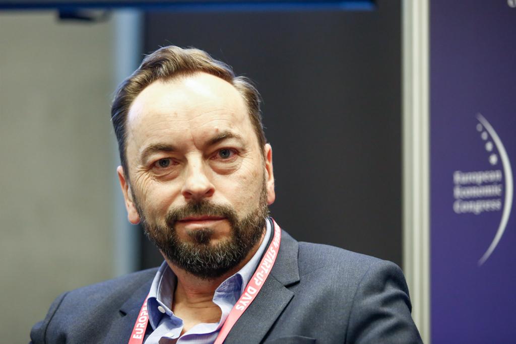 Prezes Jet Line Michał Ciundziewicki (fot. PTWP)