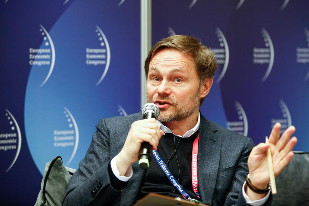 Sekretarz m. st. Warszawy Marcin Wojdat (fot. PTWP)