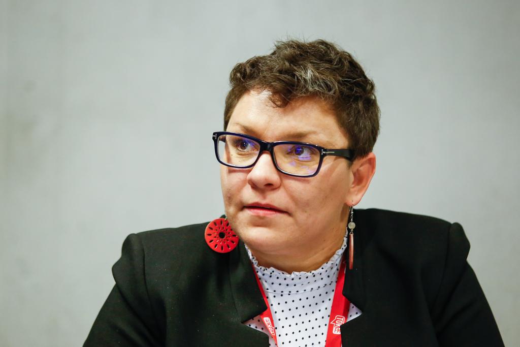 Dziennikarka TOK FM Aleksandra Dziadykiewicz (fot. PTWP)