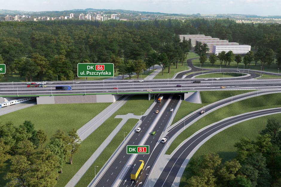 Trwa przebudowa DK81 w Katowicach. Od 27 maja duże zmiany w organizacji ruchu