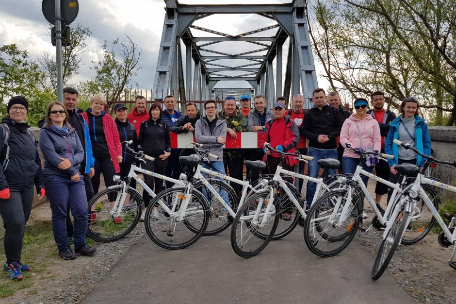 Wspólny projekt gmin: nawet dwa tygodnie na rowerze