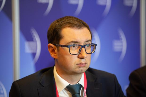 Tomasz Kołodziejczyk z Zespołu Zarządzania Ryzykiem Finansowym KPMG (fot.PTWP)