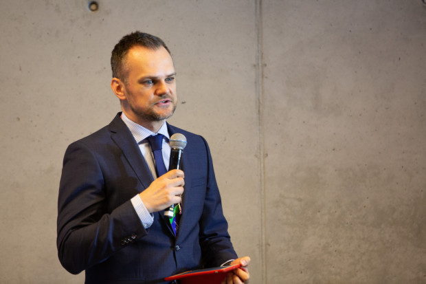 Marcin Futera z European Investment Bank.