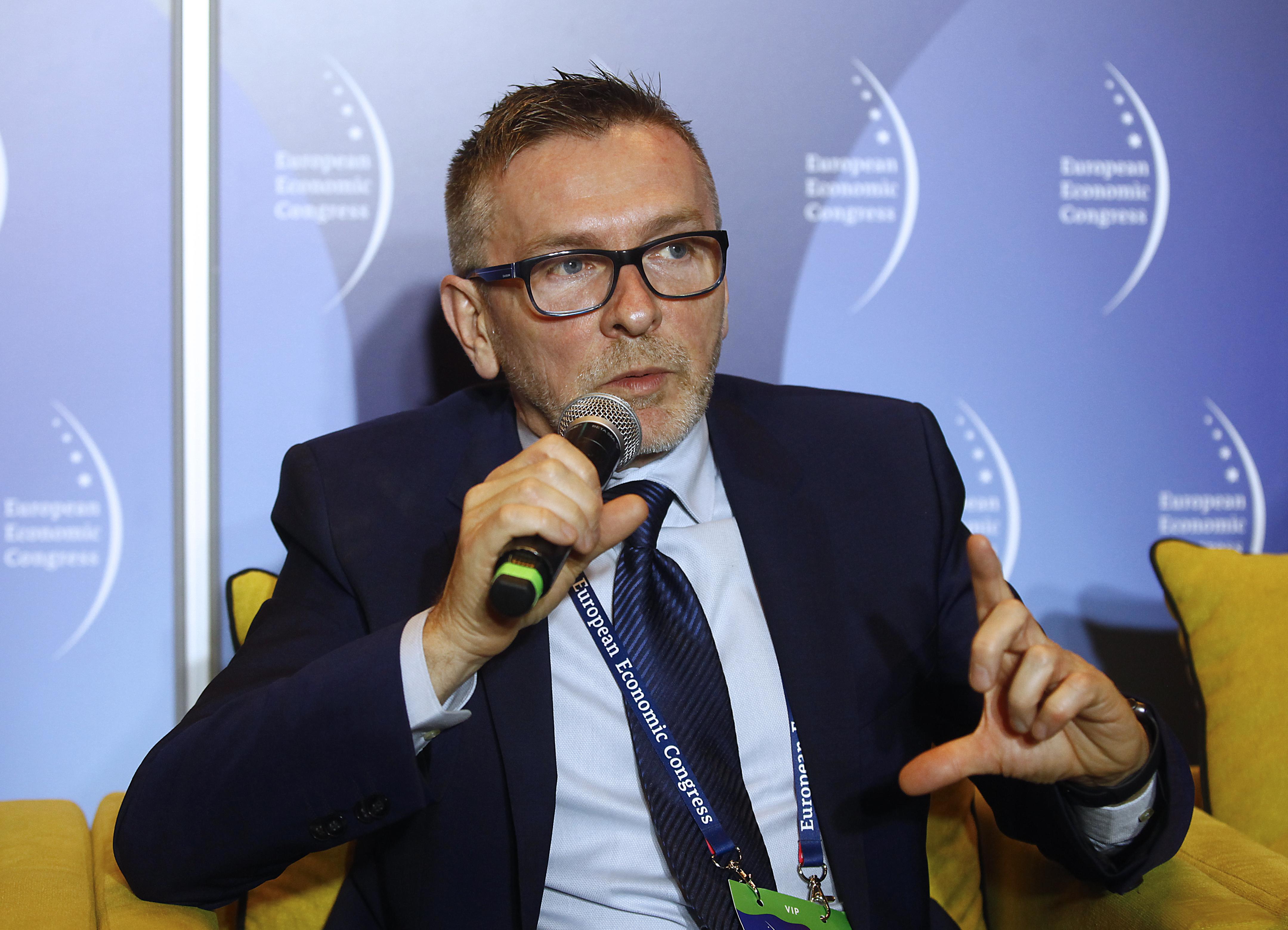 prof. Jacek Szołtysek, kierownik Katedry Logistyki Społecznej Uniwersytetu Ekonomicznego w Katowicach. Fot. PTWP/AŁ