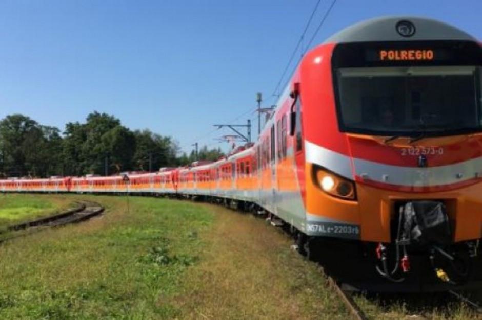 Koniec z autobusami zastępczymi: pociągi regionalne wracają na wyremontowaną trasę Łask-Zduńska Wola