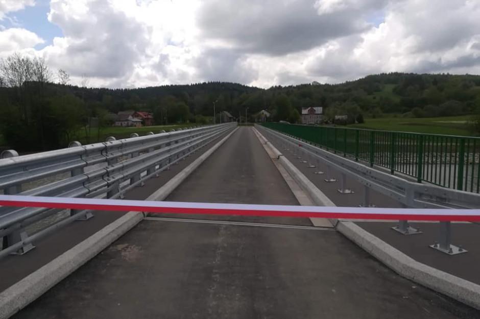 Morochów: otwarto nowy most dzięki rządowemu dofinansowaniu