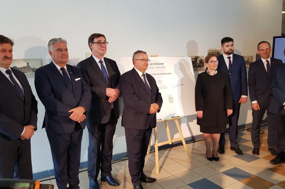 PKP Linia Chełmska Szerokotorowa ma ułatwić transport towarów między wschodnią i zachodnią Europą