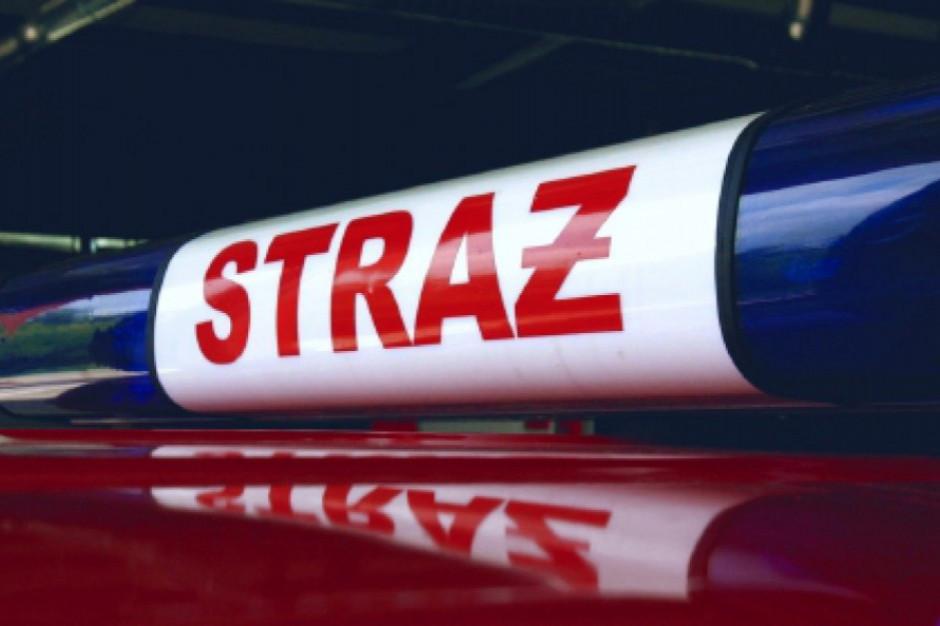 Ponad 700 razy interweniowali strażacy w związku z burzami, wiatrem i deszczami