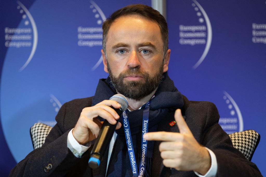 Wiceprezydent Warszawy Michał Olszewski