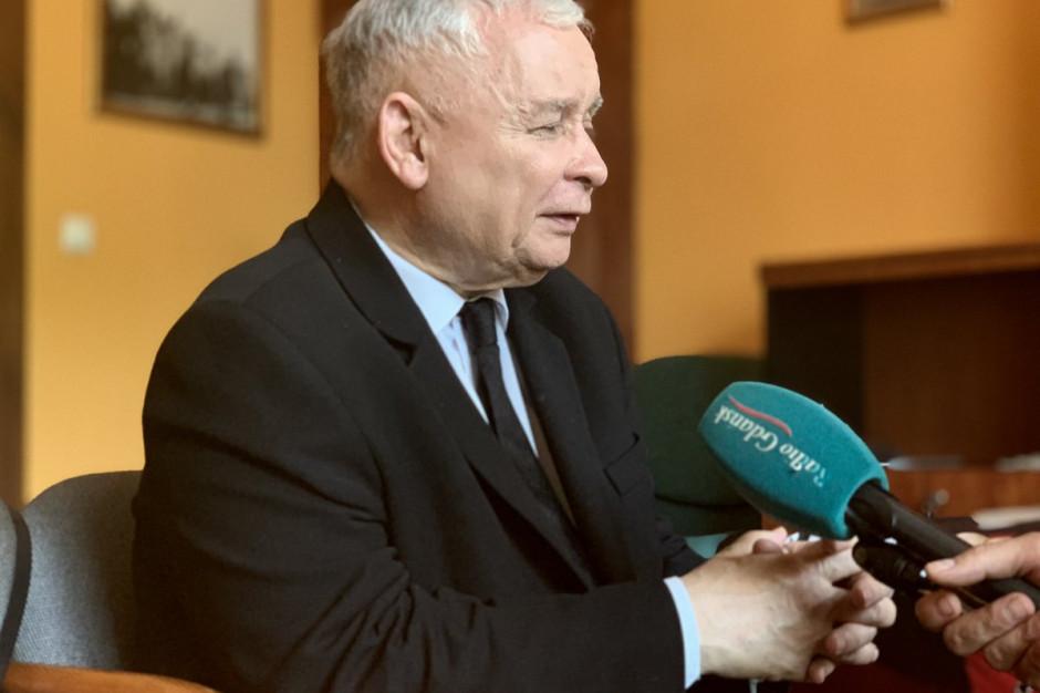Jarosław Kaczyński o propozycji nowej perspektywy UE: Z całą pewnością nie przejdzie
