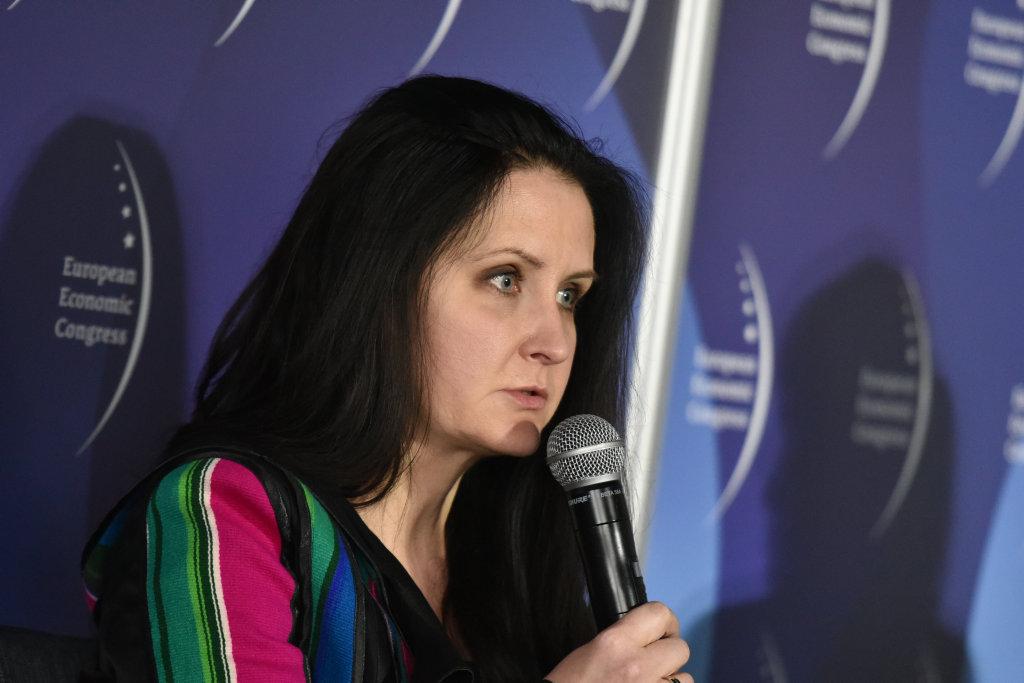 Alicji Knast, dyrektor Muzeum Śląskiego (fot. PTWP)