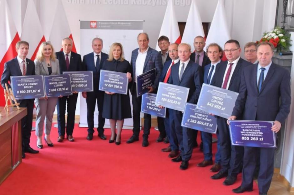Pomorskie samorządy ze wsparciem z Funduszu Solidarności UE
