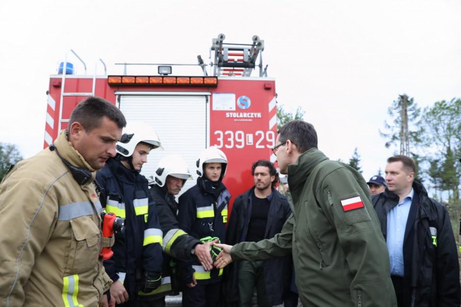 Powódź na południu Polski. Strażacy interweniowali już 1259 razy