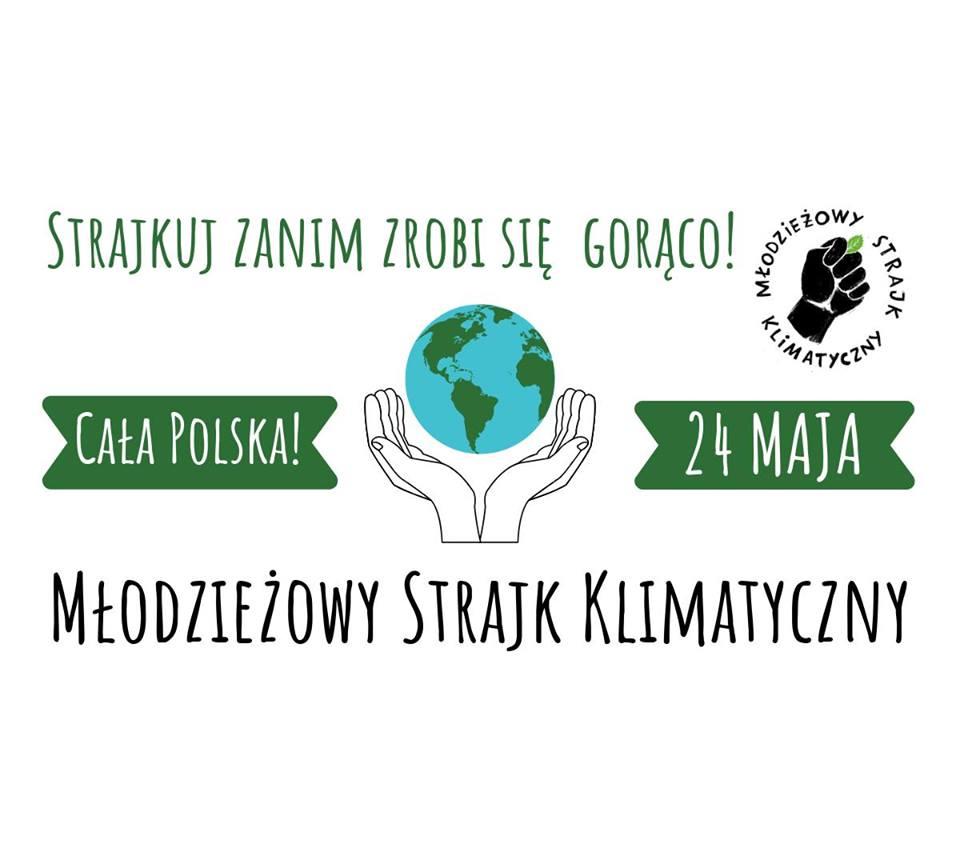 Plakat zachęcający do strajku (Mat.prasowe)