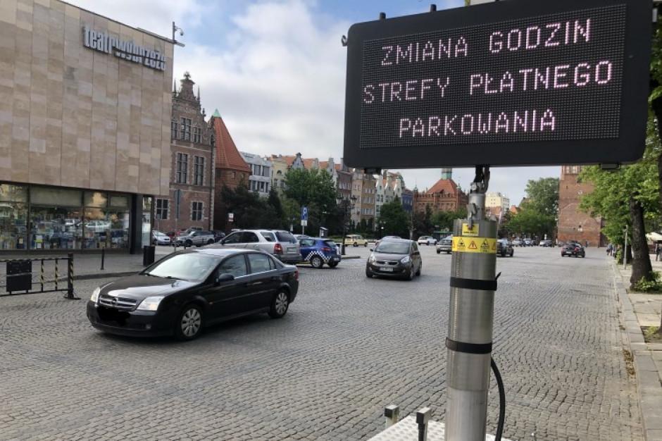 Gdańsk: zmiany w funkcjonowaniu Strefy Płatnego Parkowania