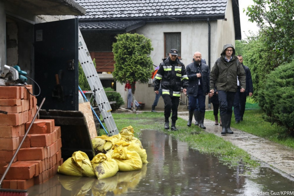 Powódź na południu Polski. Strażacy mają pełne ręce roboty