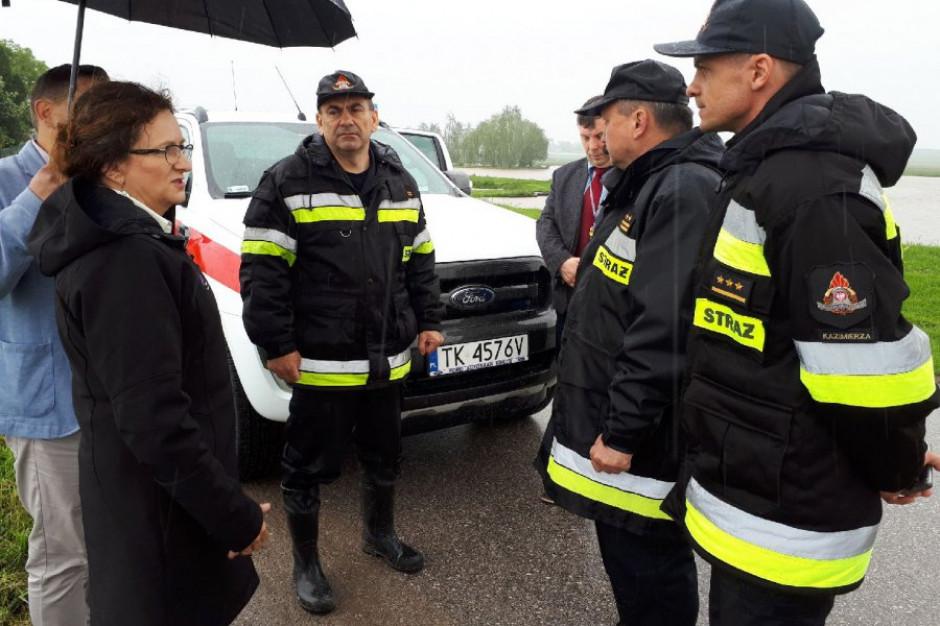 Świętokrzyskie: Ponad 260 interwencji strażaków przez ostatnią dobę