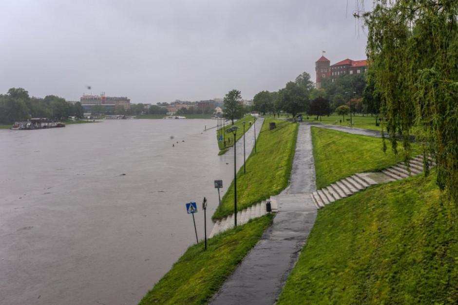 Kraków: Fala kulminacyjna spodziewana ok. godz. 8