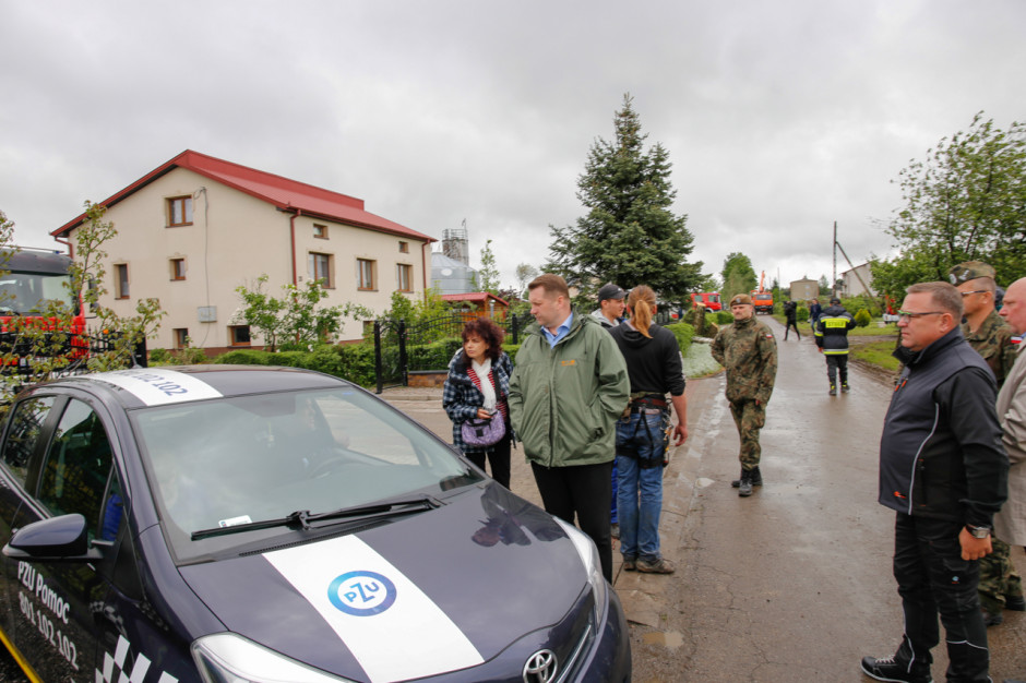Prezes PZU: wszystkie szkody w gminie Wojciechów zlikwidowane