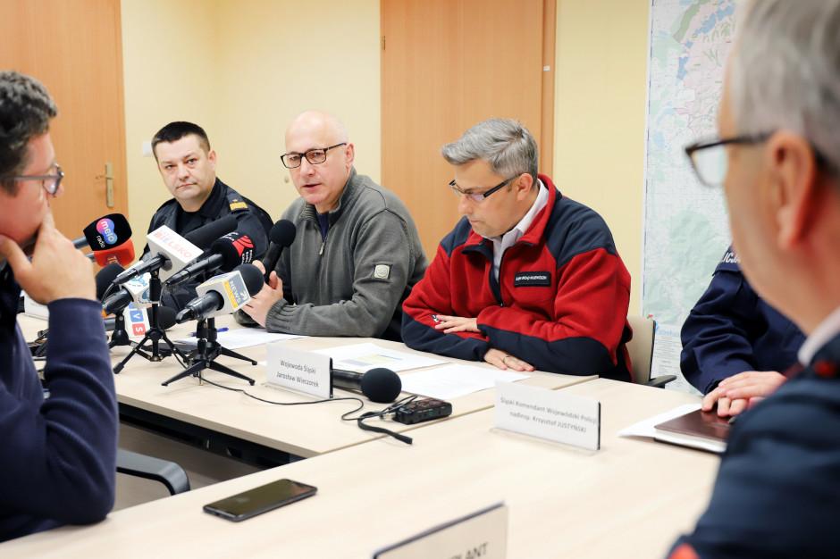 Śląsk: poziom wody w zbiorniku retencyjnym w Wilkowicach spadł o pół metra