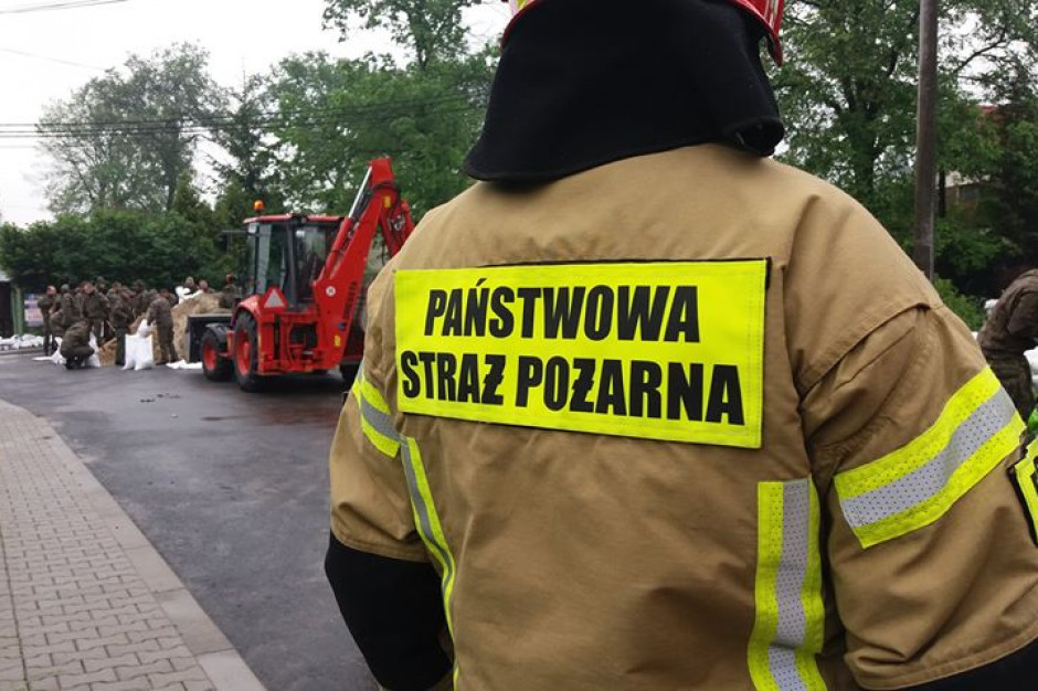 Komendant główny straży pożarnej: fala kulminacyjna nie wyrządza żadnych szkód