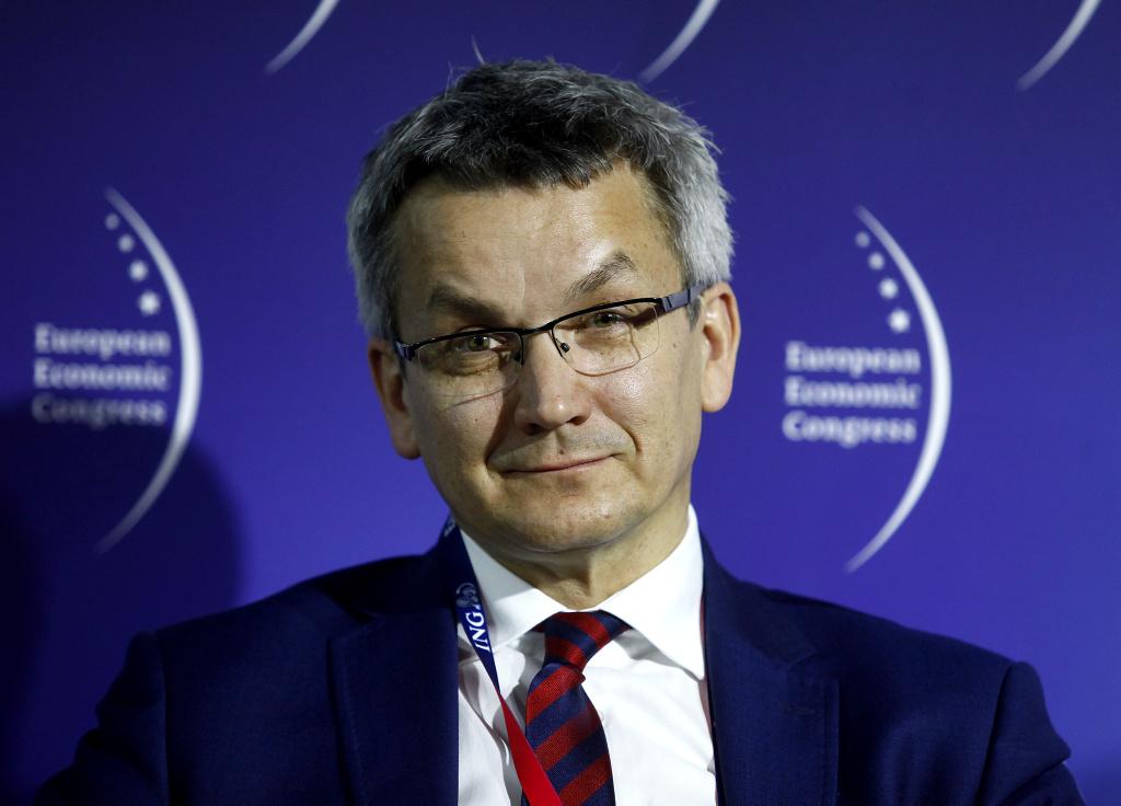 Krzysztof Mejer, I zastępca prezydenta miasta Ruda Śląska.