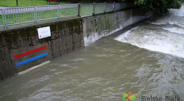 Prezydent Bielska-Białej odwołał w mieście alarm powodziowy